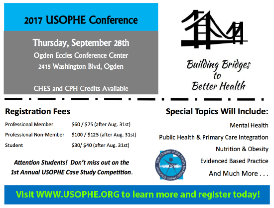 2017 USOPHE Conference Announcement